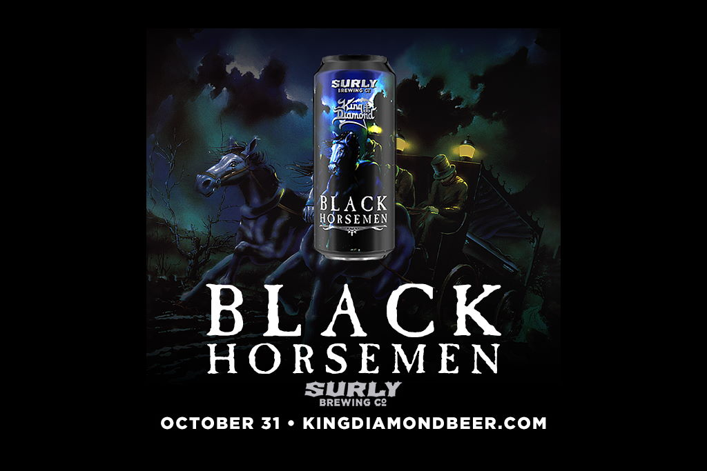 Surly Brewing and heavy metal legend King Diamond to release Black Horseman black lager