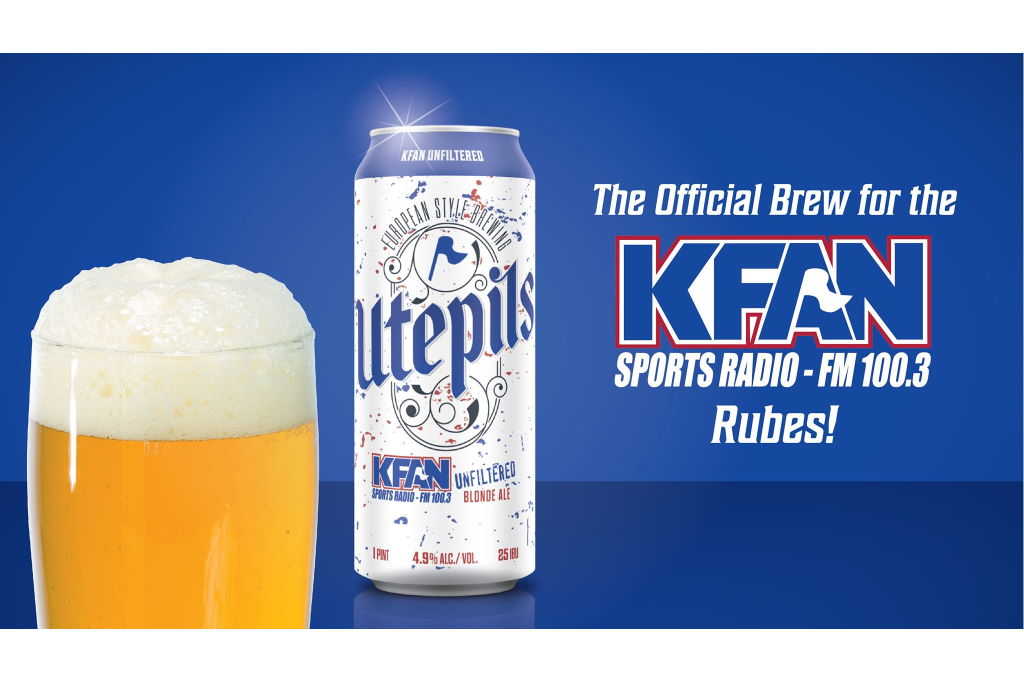 Utepils Brewing Teams Up With iHeartMedia Minneapolis FM 100.3 KFAN to Launch New Beer