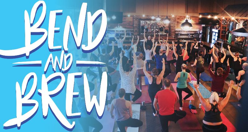 Perrin Brewing Company Presents Bend & Brew Yoga Series