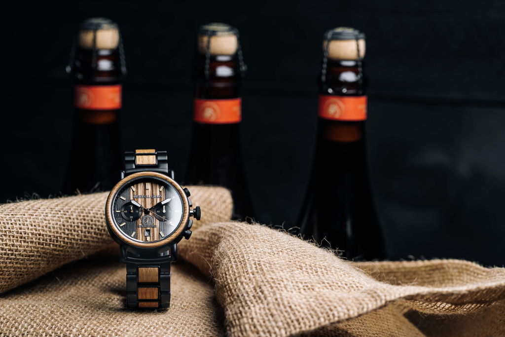 Original Grain Launches Watch Collection Made From New Belgium Brewing Beer Barrels