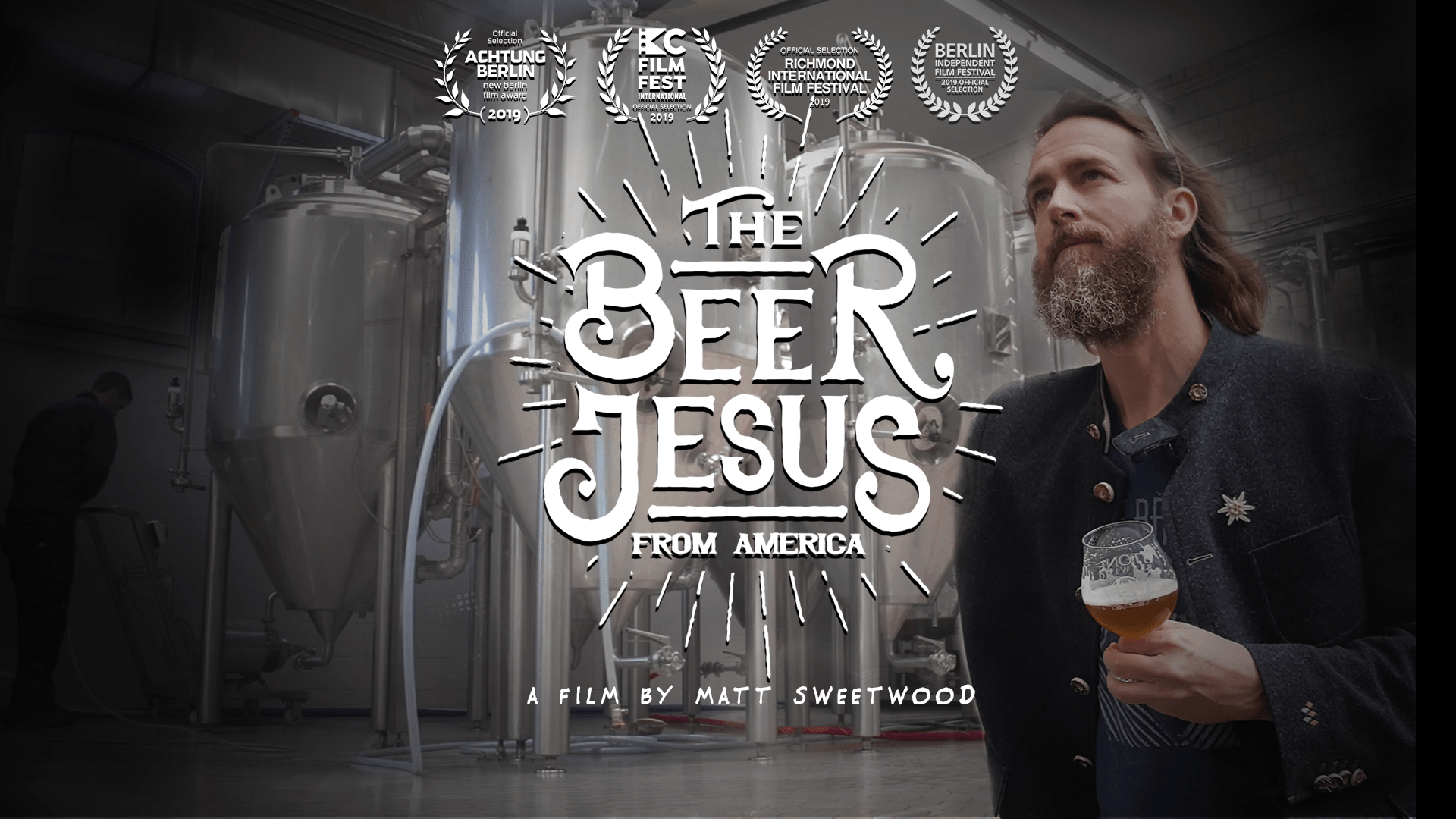 "Stone Brewing and Sweetwood Films Announce ""The Beer Jesus From America"" Now Streaming."