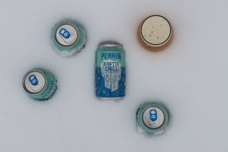 Perrin Brewing Company Releases Arctic Chill New England IPA Statewide
