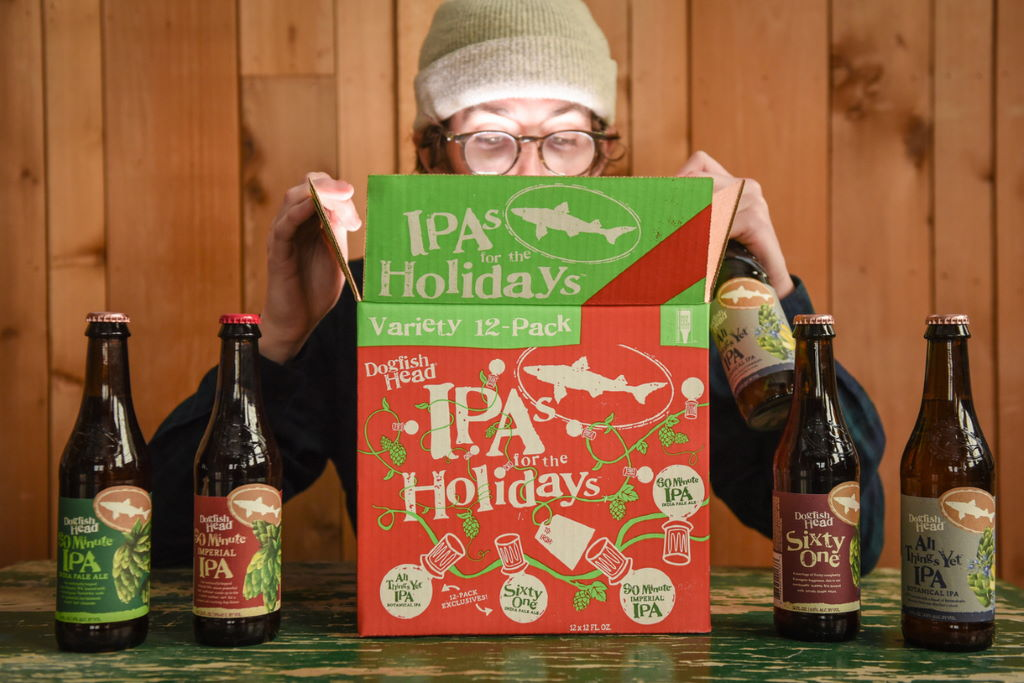 Dogfish Head releases new IPA in their IPAs for the Holidays ...