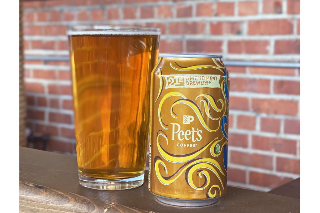 21st Amendment Brewery and Peet's Coffee Collaborate for Limited-Edition 1966 Coffee IPA