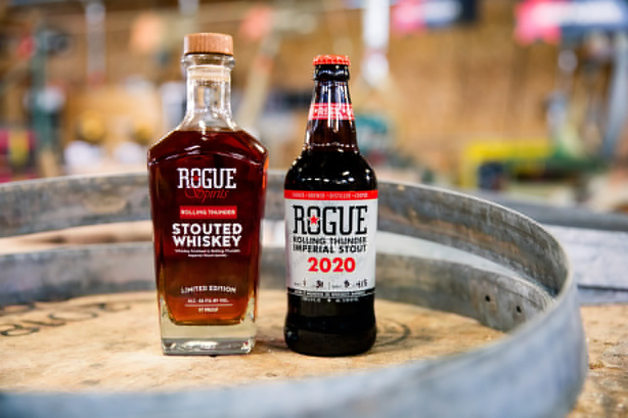 Rogue Ales & Spirits Releases 2020 Rolling Thunder Imperial Stout and Rolling Thunder Stouted Whiskey