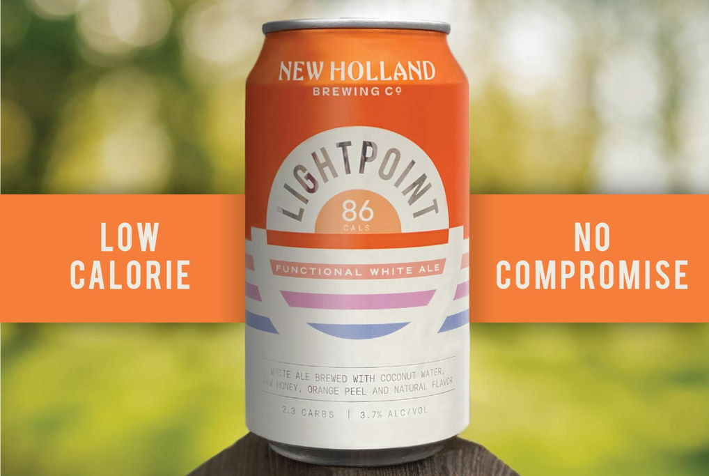 New Holland Brewing to Release Lightpoint Functional White Ale March 1st
