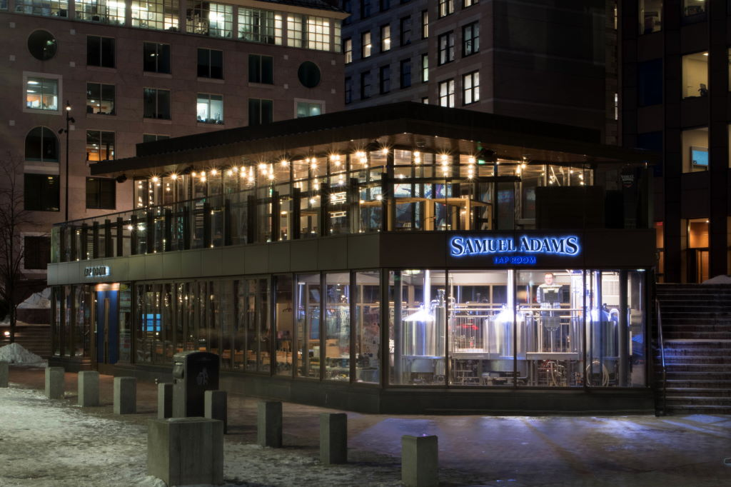 Samuel Adams Opens Newest Taproom in the Shadows of Namesake Statue at Boston's Faneuil Hall