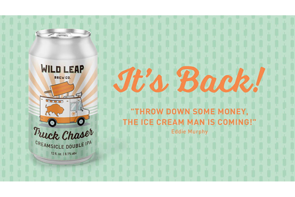 Wild Leap Brings Back Truck Chaser Creamsicle Double IPA