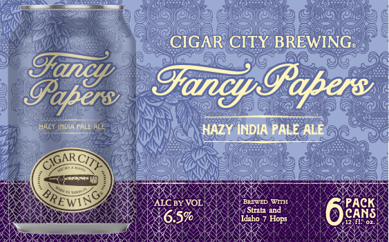 Cigar City Brewing Introduces Fancy Papers Hazy IPA To Its Seasonal Line-Up