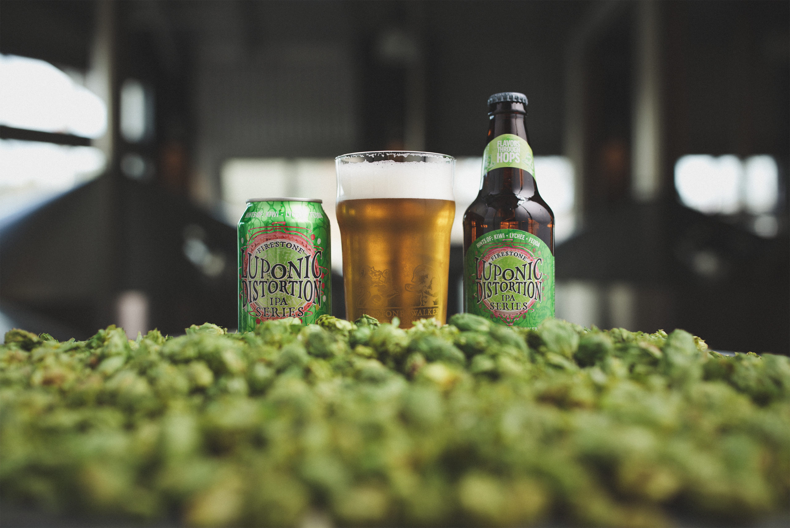 Firestone Walker Releases New Single-hop IPA Mixed Packs & New Iteration of Luponic Distortion