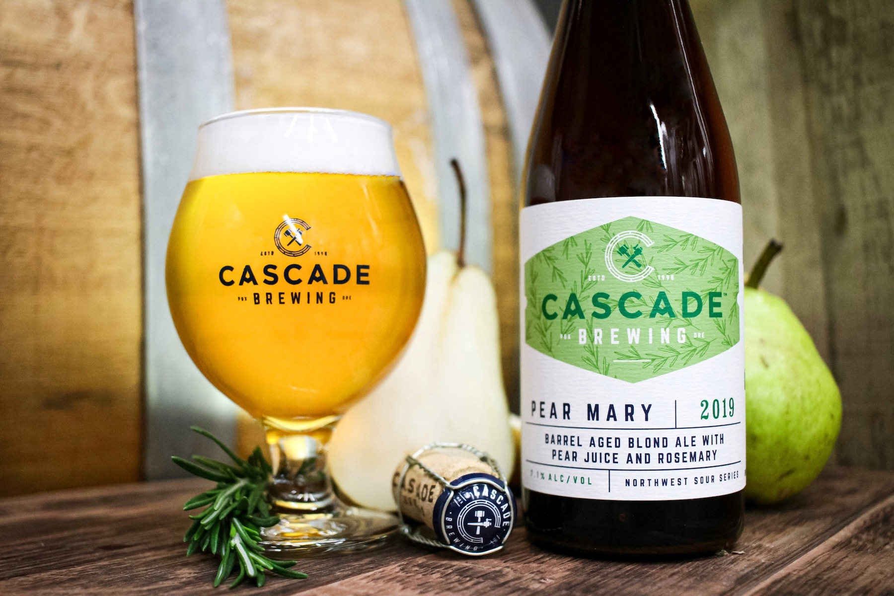 Cascade Brewing Announces Two Valentine's Day Releases