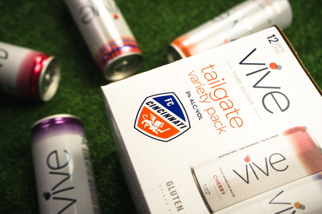 Braxton Brewing introduces FC Cincinnati hard seltzer variety pack for tailgate parties
