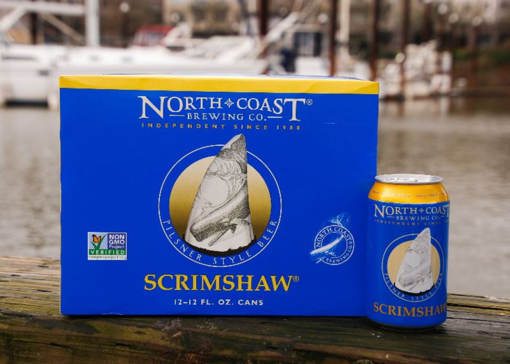 North Coast Brewing releases Scrimshaw in cans