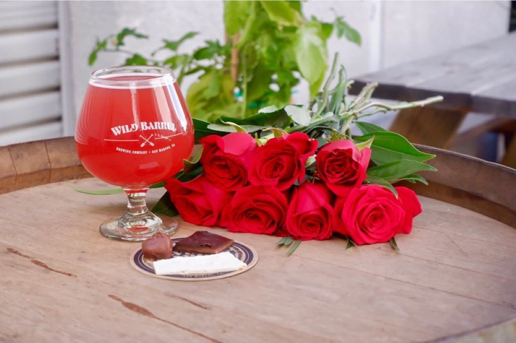 Wild Barrel Brewing Valentines Day 2020 with So Rich Chocolates