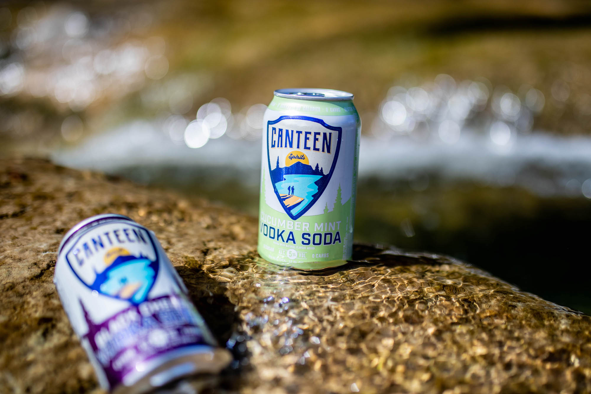 CANTEEN Sparkling Vodka + Soda Now Available Nationwide