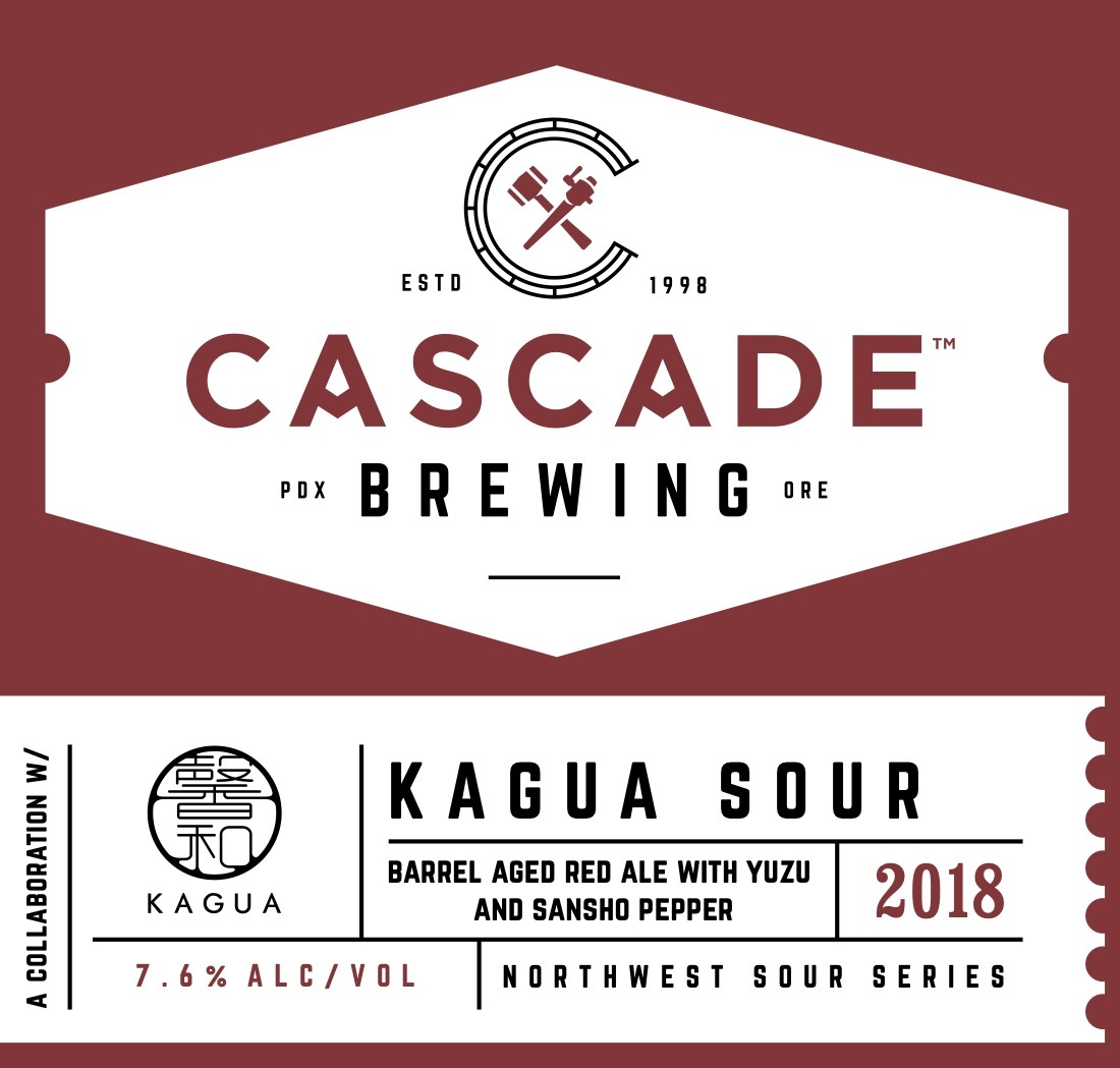 Cascade Brewing And Far Yeast Brewing To Release Kagua Sour Collab