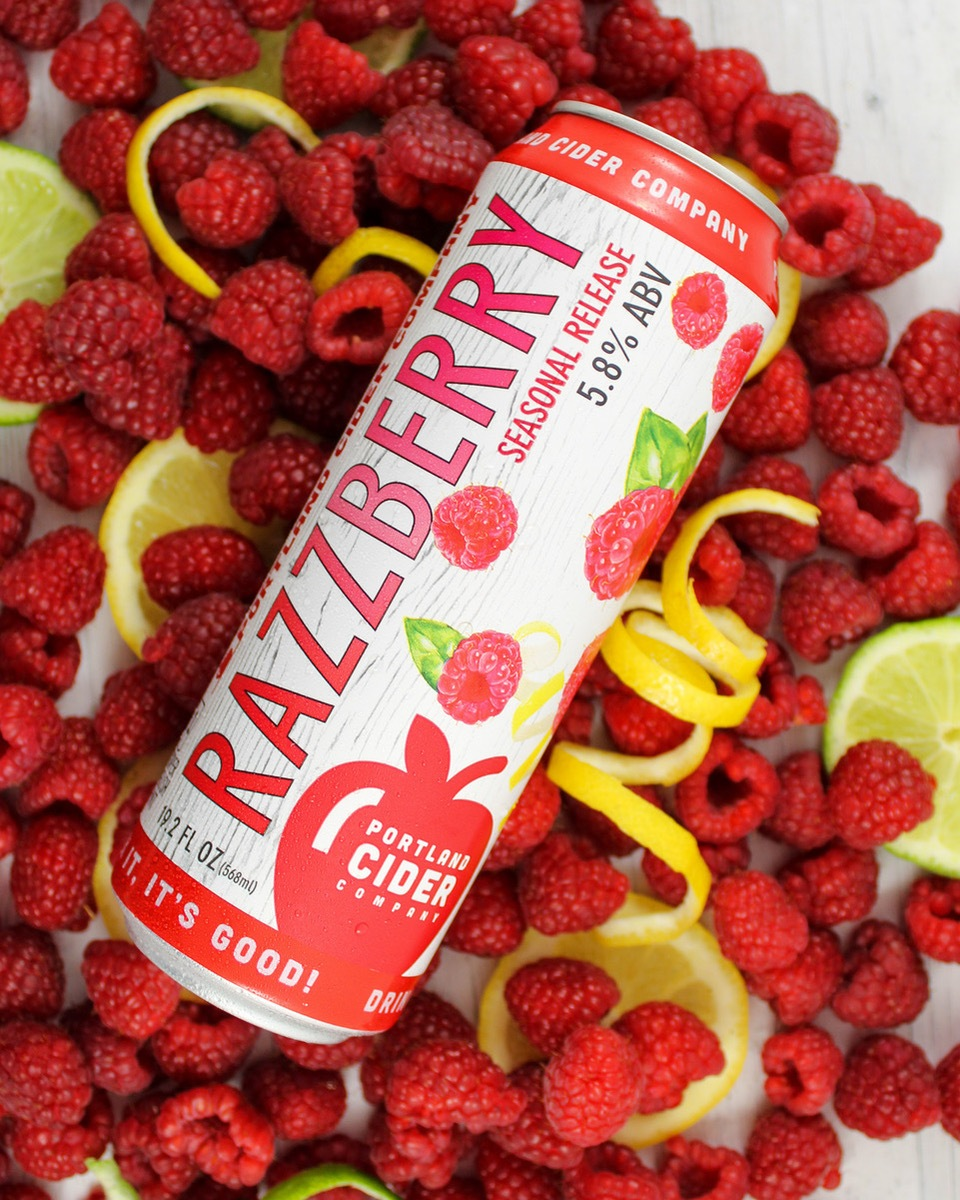 Portland Cider Co. Kicks Off New Seasonal Lineup With Refreshing RazzBerry