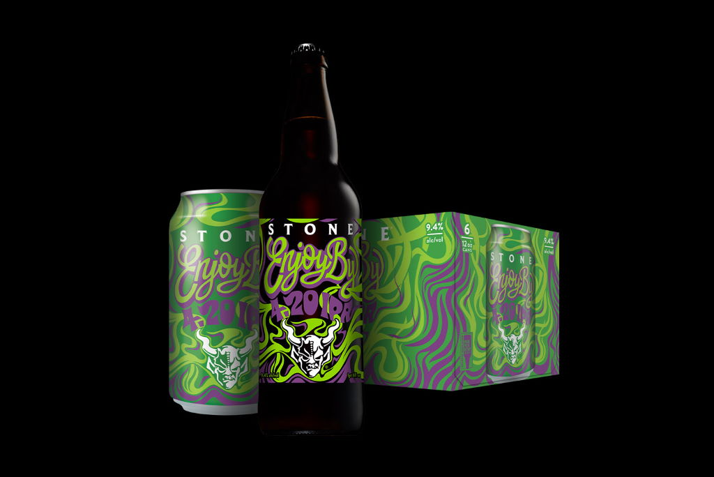 Stone Enjoy By 4.20 IPA and Merch now available