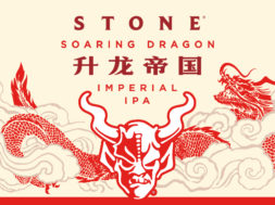 Stone Soaring Dragon Label