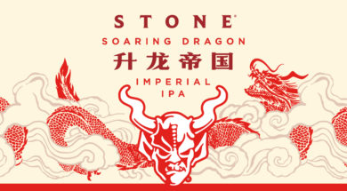 Stone Soaring Dragon Label