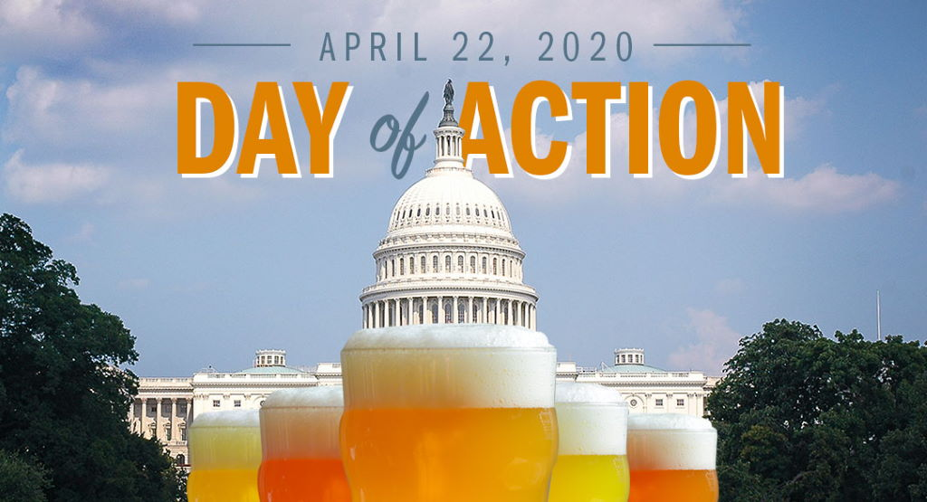 Ask Congress to Support Small Brewers! Join Us April 22 for a Day of Action