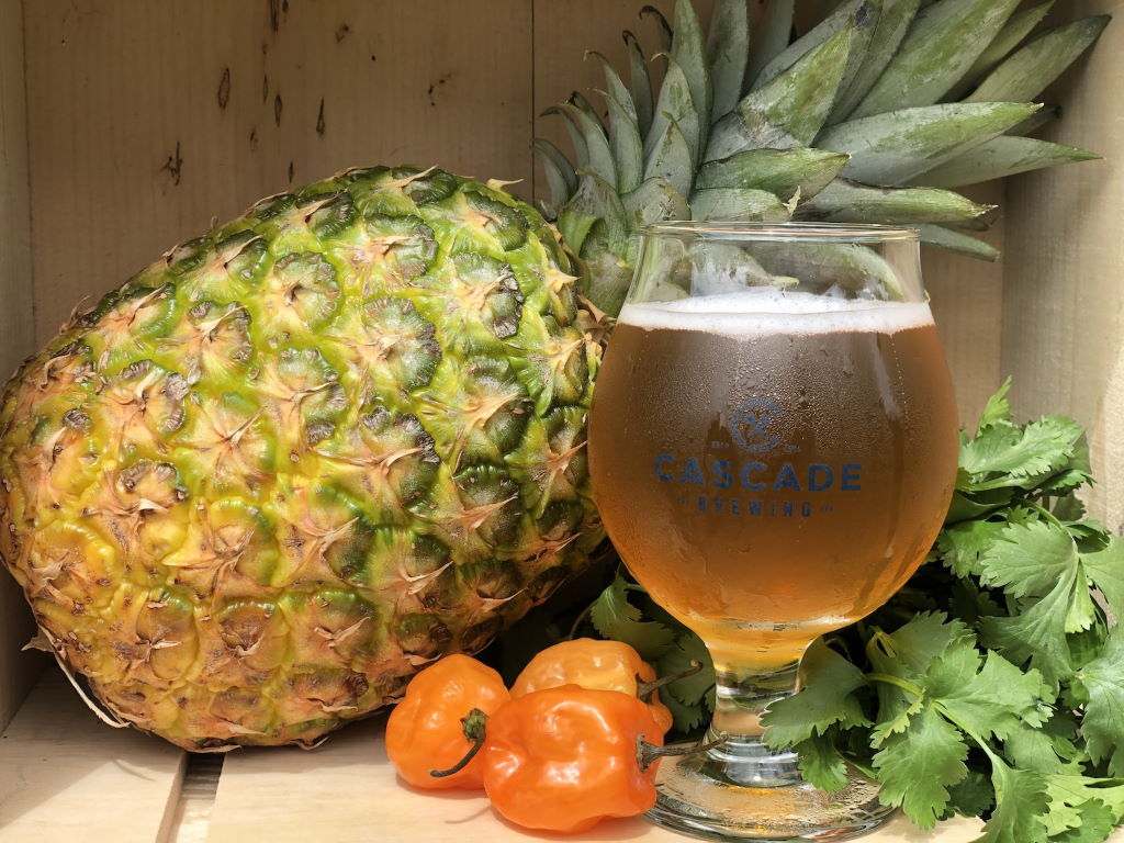 Cascade Brewing Releases Pineapple Retreat on Draft in honor of Cinco de Mayo