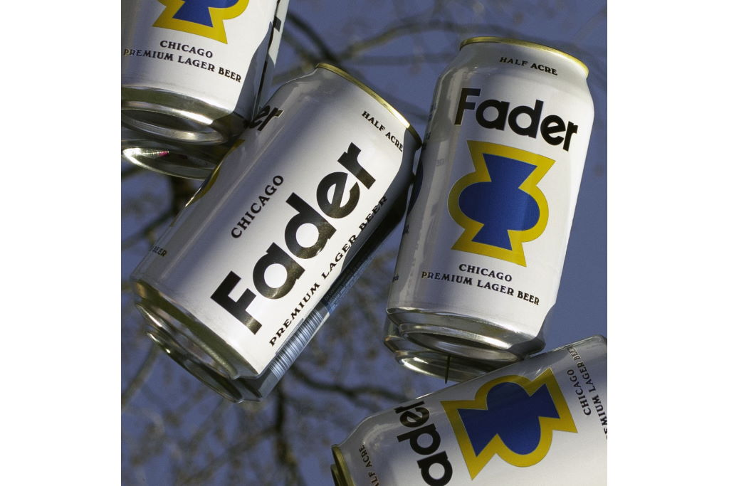 Half Acre Brewing releases Fader Premium Lager in cans