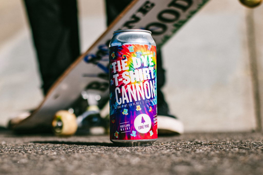 Lone Pine Brewing releases Tie Dye T-Shirt Cannon IPA