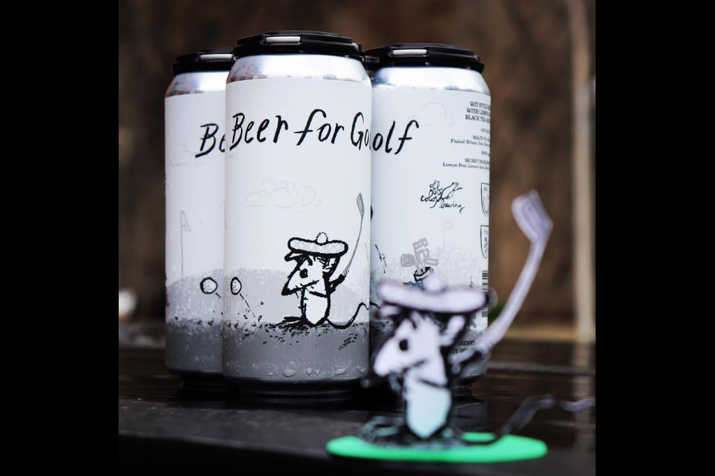 Off Color Brewing Beer for Golf returns, preorder April 30, 2020 at 7:30pm CDT