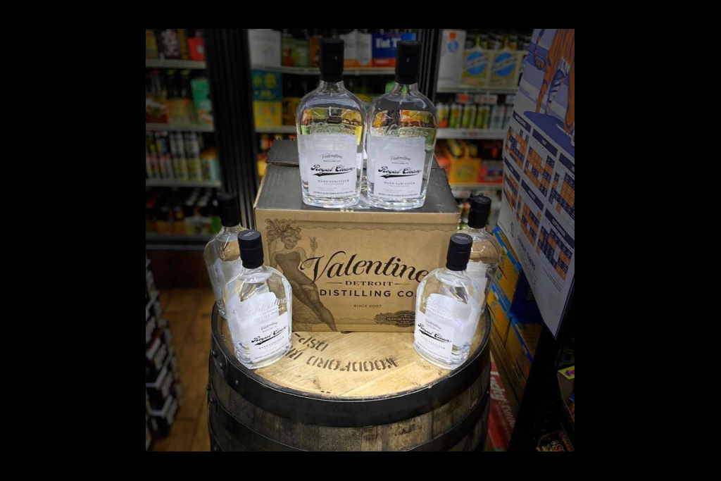 Valentine Distilling Raises $12,000 for Michigan Beverage Hospitality Workers