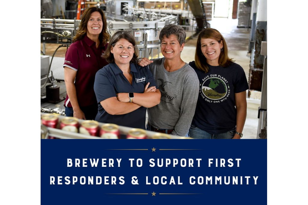 Yuengling Announces $100,000 Commitment to Support First Responders and Hospitality Community during COVID-19