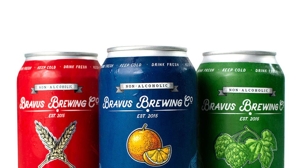 Bravus Brewing Co, North America's 1st Brewery Dedicated To Non-Alcoholic Beer.