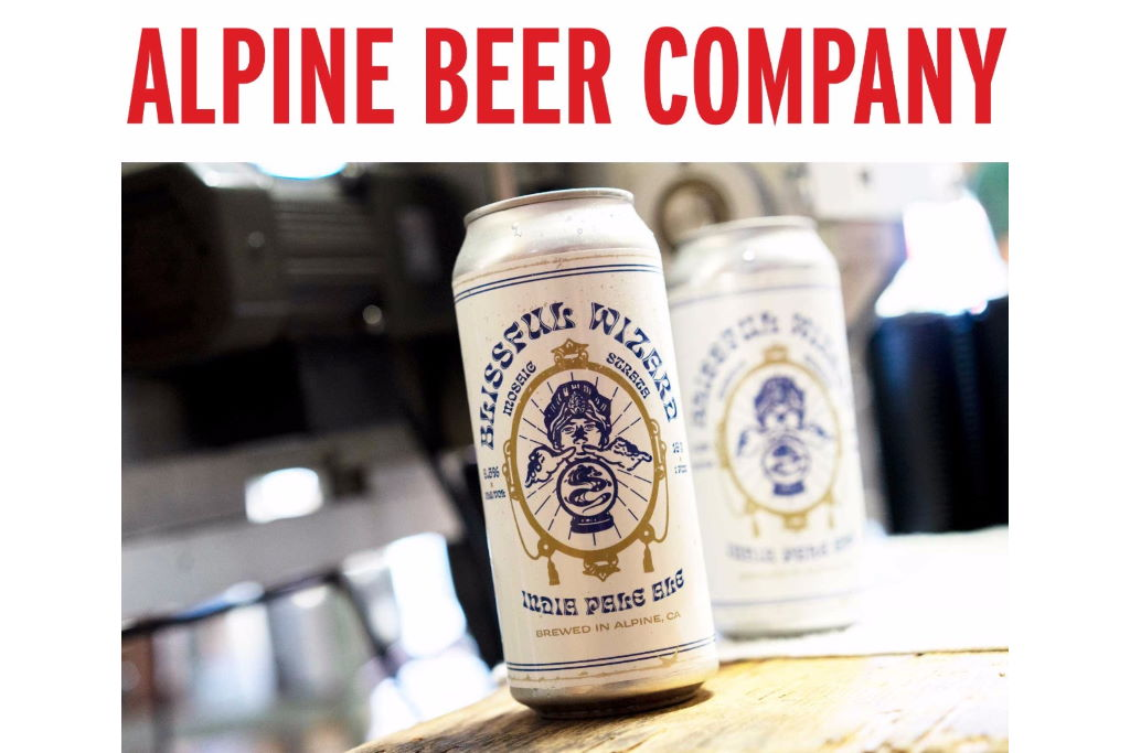 Alpine Beer Co Blissful Wizard 16oz Can Release this Saturday