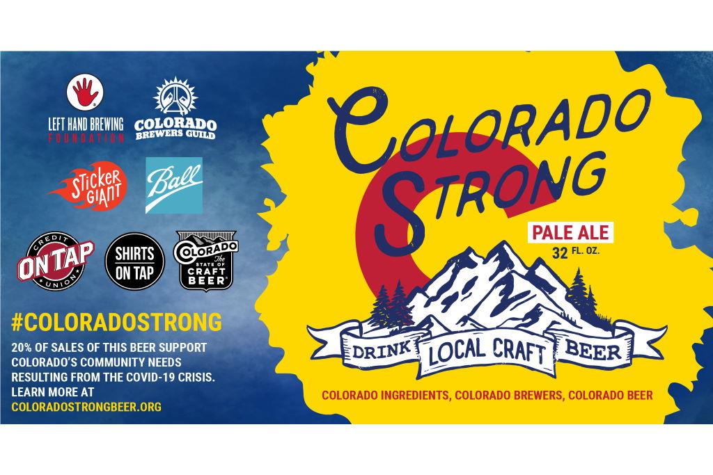 Nearly 100 Colorado brewers brew Colorado Strong Pale Ale to raise money for Covid-19 affected businesses