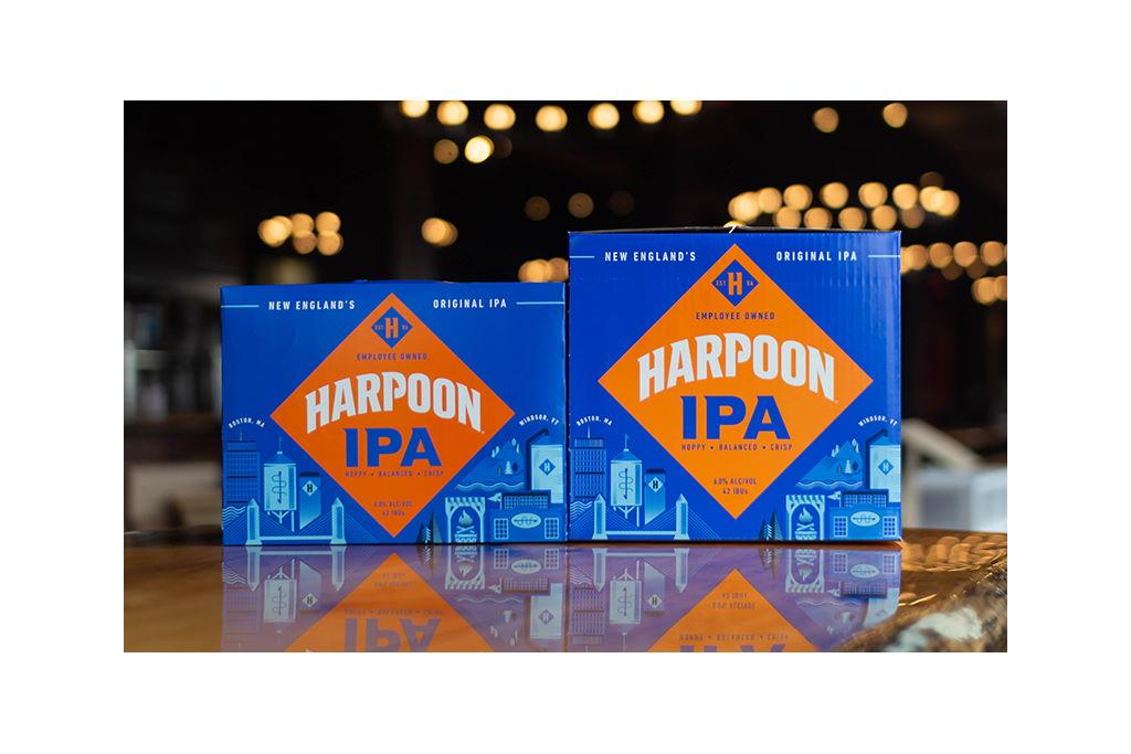 Harpoon Brewery IPA Has a Fresh New Look