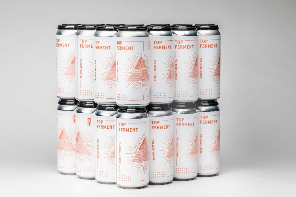 Ferment Brewing launches quarterly 16 ounce can line