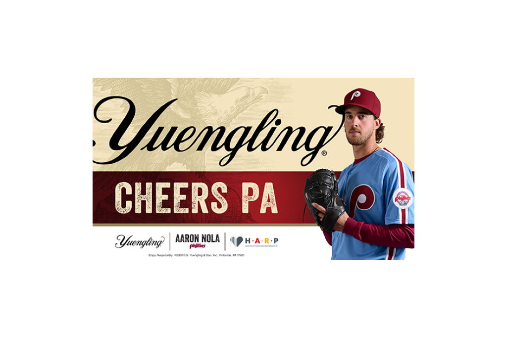 Yuengling teams up with Phillies All Star Aaron Nola to launch Cheers PA