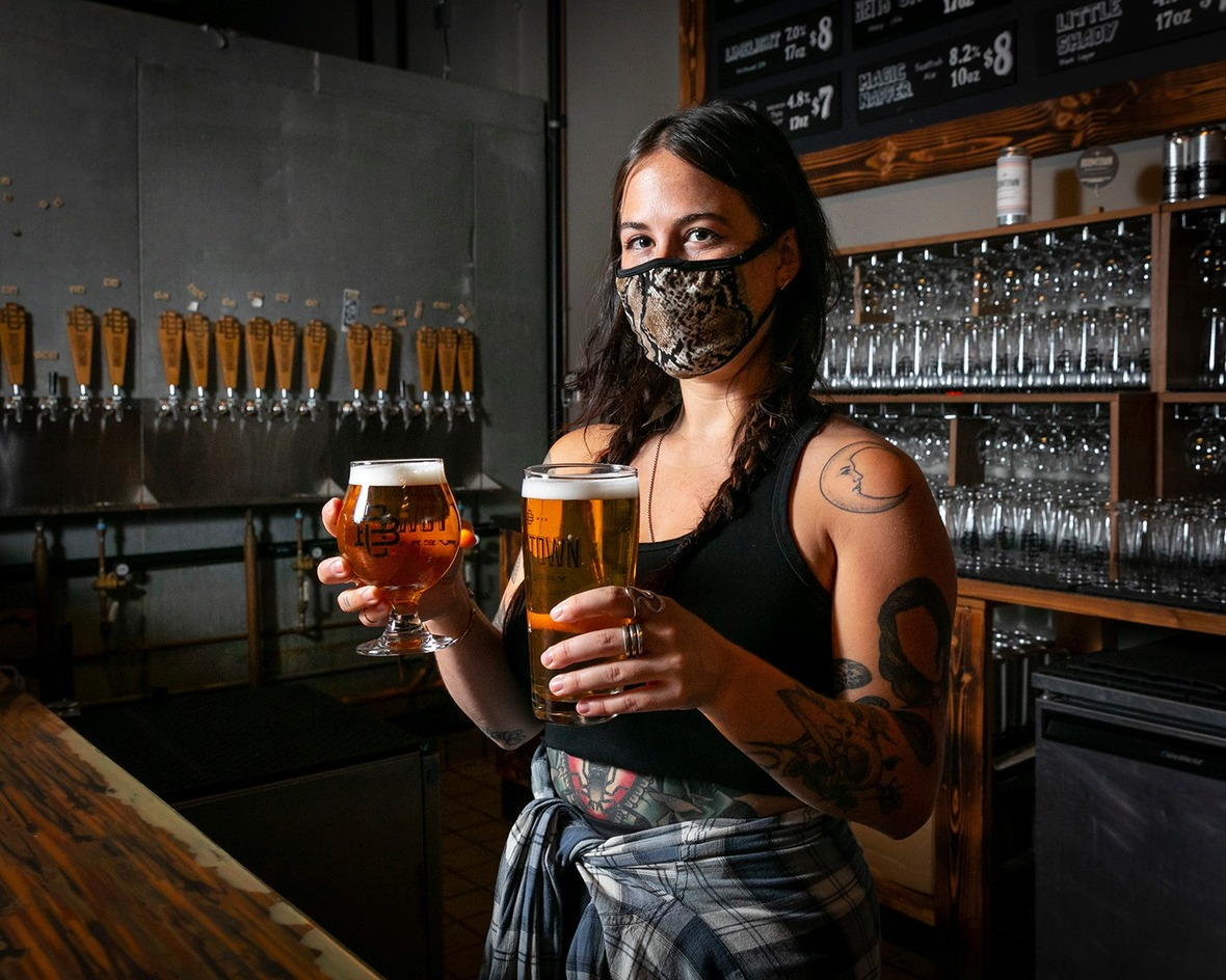 Boomtown Brewery Reopens Taproom To Brighter Dayz, Their Newest Canned Artist Collaboration