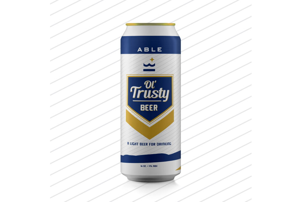 Able Brewery Goes Back to the Basics with A Cheap Beer-Flavored Beer 12-Pack about $11.99