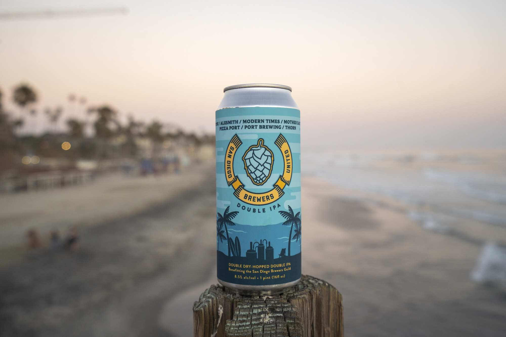 San Diego Brewers United Double IPA.