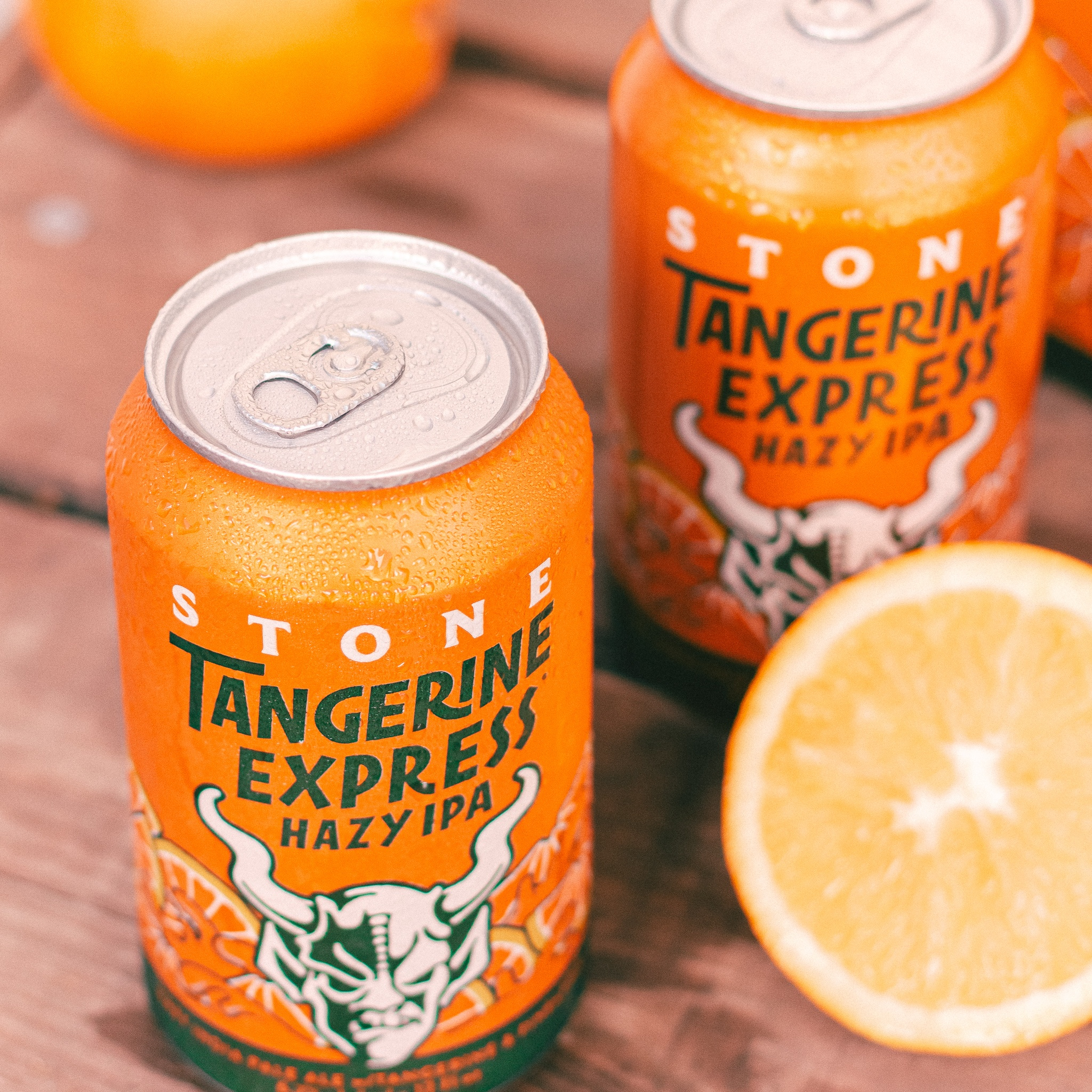 Stone Brewing Changes Nothing About Stone Tangerine Express Hazy IPA