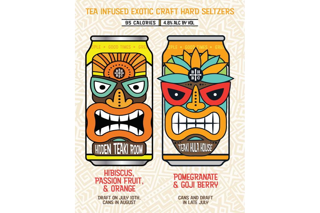Barrelhouse Brewing releasing two new tiki themed hard seltzers