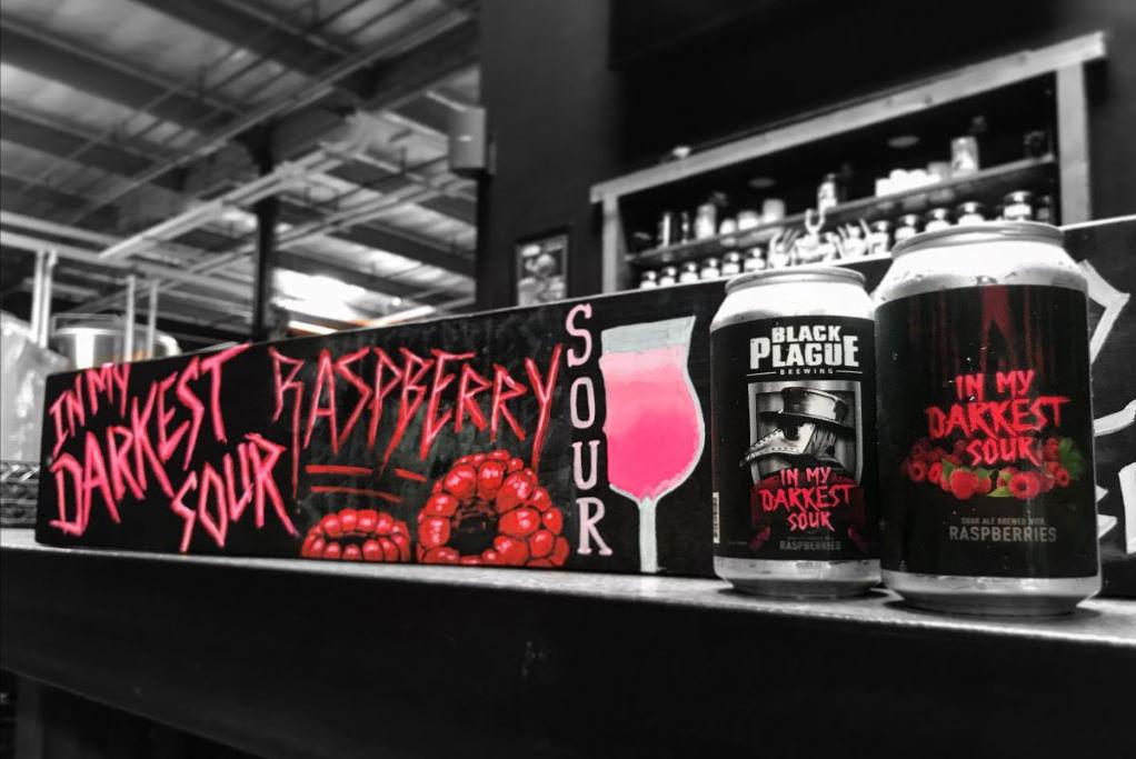 Black Plague Brewing In My Darkest Sour with Raspberries is released