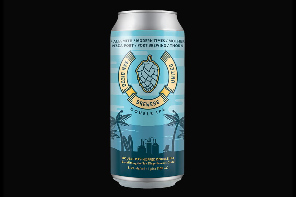 Stone releases San Diego Brewers United Double IPA with Alesmith, Modern Times, Mother Earth, Pizza Port, Port Brewing, Thorn Brewing