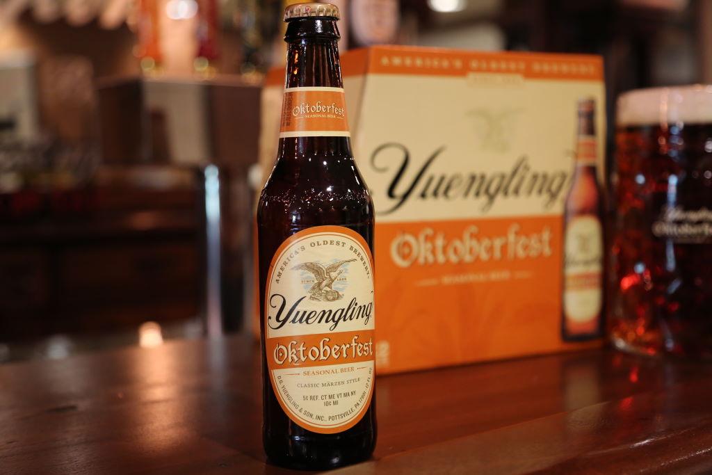 Yuengling's seasonal Oktoberfest returns
