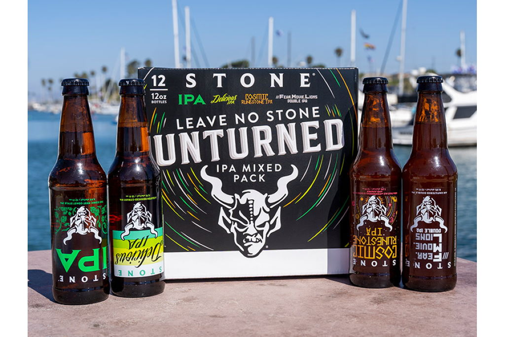 Stone Leave No Stone Unturned Ipa Mixed Pack Now Available Nationwide Beeralien